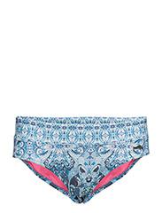 safety position bikini bottom - BLUE