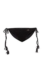 bungalow bikini bottom - ALMOST BLACK