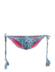 safety triangle bikini bottom - BLUE