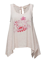 summer vibes tank top - SOFT ROSE