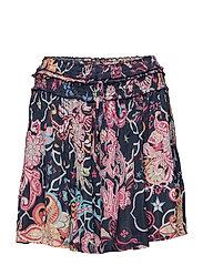 the gardener skirt - DARK BLUE