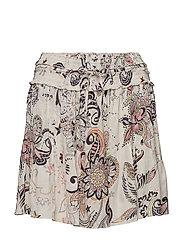 the gardener skirt - LIGHT PORCELAIN