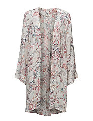 love affair kaftan - LIGHT CHALK