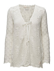 dance along cardigan - LIGHT CHALK