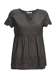 treehouse blouse - ASPHALT