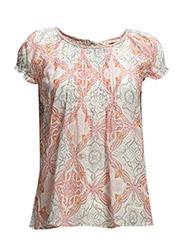 caribou s/s blouse - DESERT ROSE