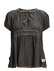 woodpecker blouse - ASPHALT