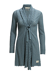 can-can long cardigan - VINTAGE BLUE