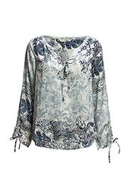grassland blouse - VINTAGE BLUE