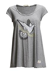 newbe tshirt - GREY MELANGE