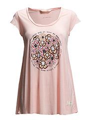 newbe tshirt - MILKY PINK
