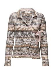 lovely knit jacket - MULTI