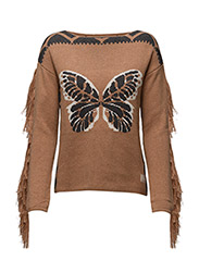 to the sky sweater - CAMEL