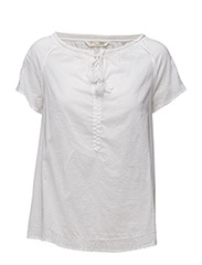 so long s/s blouse - BRIGHT WHITE