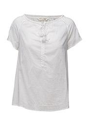 so long s/s blouse - BRIGHT WHITE