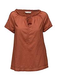so long s/s blouse - MISTY BRICK