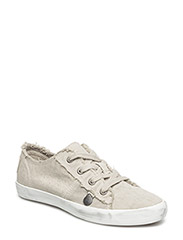 down to earth low sneakers - PORCELAIN