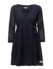 solo dress - DARK BLUE