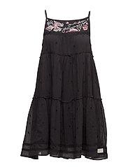 entertain dress - ALMOST BLACK