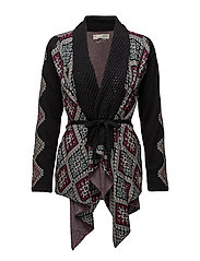 after light wrap cardigan - MULTI