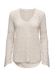 love affair sweater - LIGHT PORCELAIN