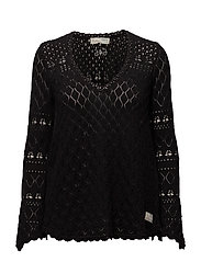 love affair sweater - ALMOST BLACK