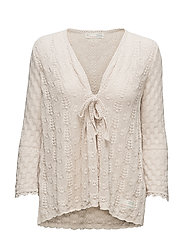 love affair cardigan - LIGHT PORCELAIN