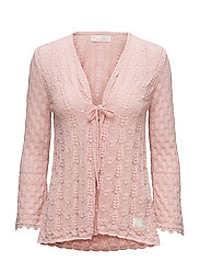 love affair cardigan - MILKY PINK