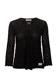 love affair cardigan - ALMOST BLACK