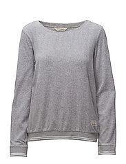get along solid sweater - LIGHT GREY MELANGE
