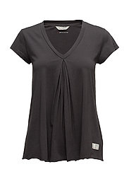 pick up s/s top - ALMOST BLACK