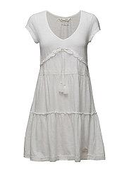 whiteness dress - BRIGHT WHITE