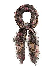 mid way scarf - ASPHALT