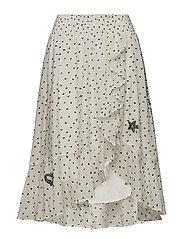 devotion skirt - OFFWHITE