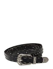 buckle up belt - ALMOST BLACK