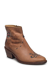 rattlesnake low boot - BROWN
