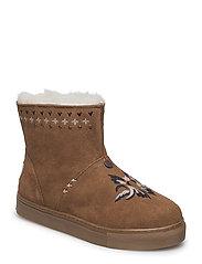 suedey low boot - DESERT