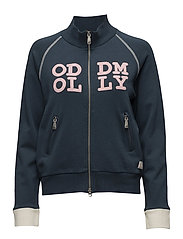 memory lane zip sweat - NAVY