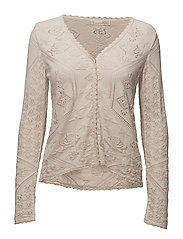 vibrato cardigan - LIGHT PORCELAIN