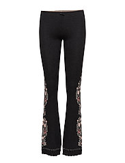 extra ordinary flared leggings - ALMOST BLACK