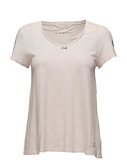 our town s/s top - SOFT ROSE
