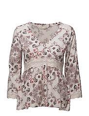 medley l/s blouse - SOFT ROSE