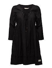 medley dress - ALMOST BLACK