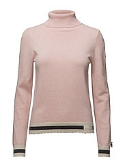 hoower turtleneck - SOFT ROSE