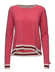 hoower sweater - RASPBERRY