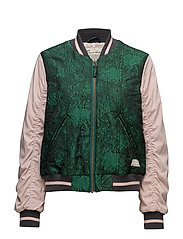 highs-cool jacket - EMERALD
