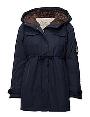 parky parka - DARK BLUE