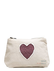 love carrier small make up bag - SHELL
