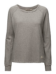 chill out sweater - LIGHT GREY MELANGE