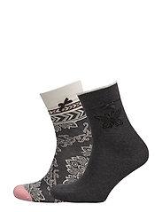 socky sock - DARK GREY MELANGE